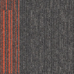 Off Line 7559006 Pewter-Mandarin | Carpet tiles | Interface