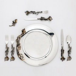 Silver Place Setting | Geschirr | Officine Gullo
