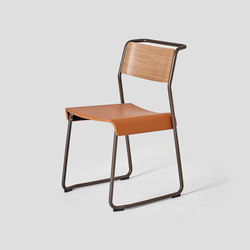 Canteen Utility Chair Upholstered | Chaises | VG&P