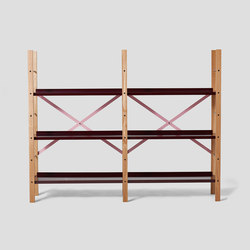 Croquet Freestanding Shelving 3 Shelf | Shelving | VG&P