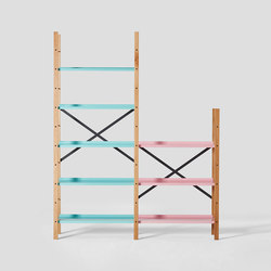 Croquet Freestanding Shelving 5 Shelf | Shelving | VG&P