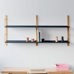 Croquet Wall Shelving 2 Hoop | Office shelving systems | VG&P