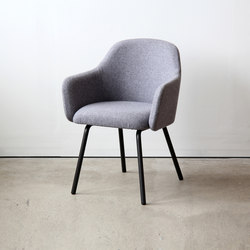 MT Club Chair Steel | Sedie visitatori | VG&P