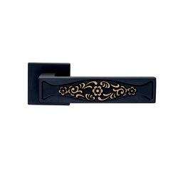 Fusital H 375 R8 | Brunito/Fiore oro | Lever handles | Valli&Valli