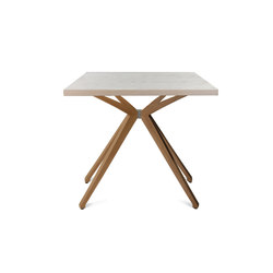 W-Table Wooden Frame Small | Beistelltische | Wagner