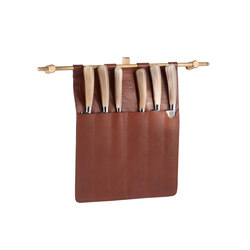 Leather Accessories | Knife blocks | Officine Gullo