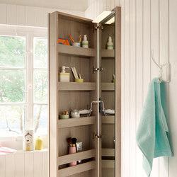 Bel | Tall mirror | Wall cabinets | burgbad