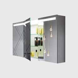 Crono | Mirror cabinet | Wall cabinets | burgbad