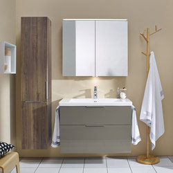 Eqio | Tall unit | Armarios de baño | burgbad