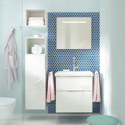 Eqio | Mi-colonne | Armoires de salle de bains | burgbad