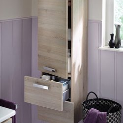 Essento | Tall unit | Wall cabinets | burgbad