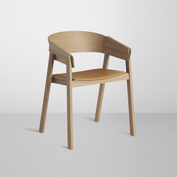 Cover Chair | leather | Sedie visitatori | Muuto
