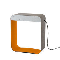 Eau de lumière Floor lamp Large Square | Floor lights | designheure