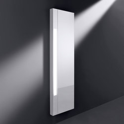 rc40 | Mirror for the wall with vertical lighting | Specchi da bagno | burgbad
