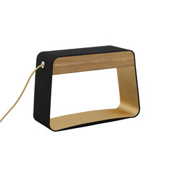 Eau de lumière Table lamp Medium Rectangle | Lampade tavolo | designheure