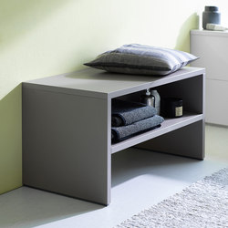 Sys30 | Bench | Bath shelving | burgbad