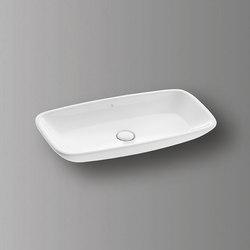 Sys30 | Ceramic washbasin | Wash basins | burgbad