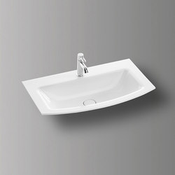 Sys30 | Ceramic washbasin | Wash basins | burgbad