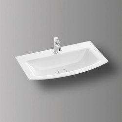 Sys30 | Ceramic washbasin | Lavabi | burgbad