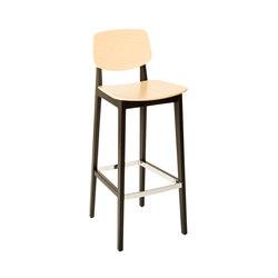 Felber C14 Wood Barstool | Tabourets de bar | Dietiker