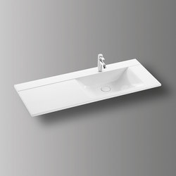 Sys30 | Mineral cast washbasin | Wash basins | burgbad