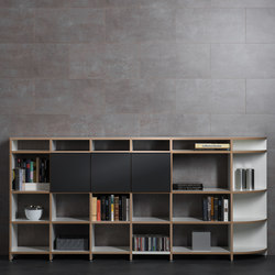 Classic shelf-system | Sistemi scaffale ufficio | mocoba