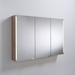 Sys30 | Mirror cabinet with vertical LED-light | Armadietti parete | burgbad