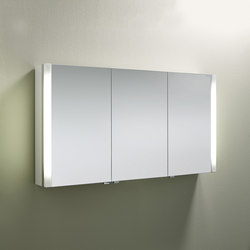 Sys30 | Mirror cabinet with vertical lighting | Armadietti a specchio | burgbad