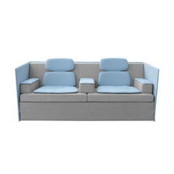 Felber L14 Sound Duo Low Back | Lounge sofas | Dietiker