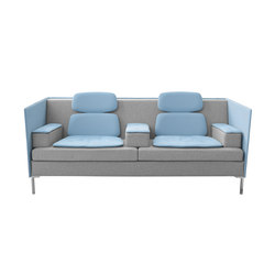 Felber L14 Sound Duo Light Low Back | Lounge sofas | Dietiker