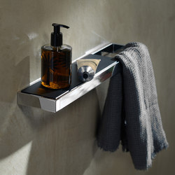 Yso | Wandablage | Handtuchhalter | burgbad