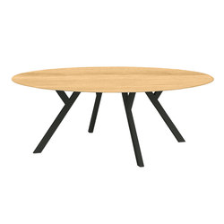 Felber T14 Wood Round | Tables de réunion | Dietiker