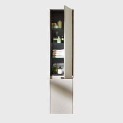 Yso | Tall unit | Wall cabinets | burgbad