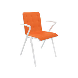 Nomen Chair | Visitors chairs / Side chairs | Dietiker