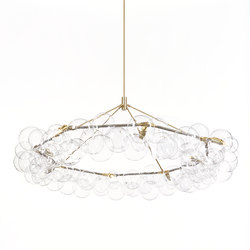 Wreath Bubble Chandelier | Lámparas de suspensión | PELLE