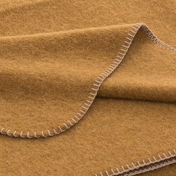 Alina Blanket safran | Plaids / Blankets | Steiner
