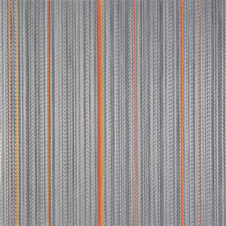STRIPES | Diamond Orange | Moquette | 2tec2
