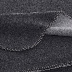 Luisa Double blankets graphite/anthracite | Plaids / Blankets | Steiner