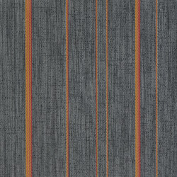 STRIPES | Moonless night Orange - ST | Quadrotte moquette | 2tec2