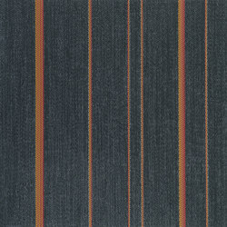 STRIPES | Eclipse Orange - ST | Quadrotte moquette | 2tec2