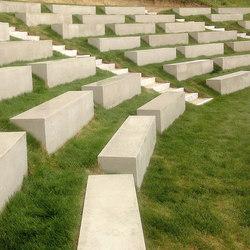 Concrete Bench | Panche da esterno | IVANKA