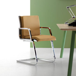 Word 1703c0s | Visitors chairs / Side chairs | Quinti Sedute