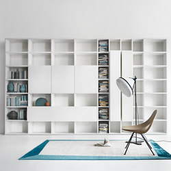 Selecta | Wall storage systems | LEMA