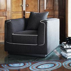 Gentleman armchair | Armchairs | Flou