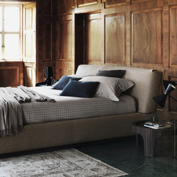 Gentleman bed | Double beds | Flou