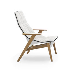 Ace wood | Loungesessel | viccarbe