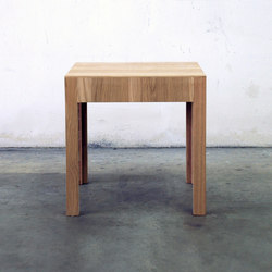 NF 37T Stooltable | Mesas auxiliares | editionformform