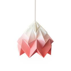Moth Lamp - Gradient Coral | Iluminación general | Studio Snowpuppe