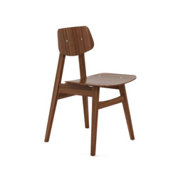1960 Chair Walnut | Visitors chairs / Side chairs | Rex Kralj