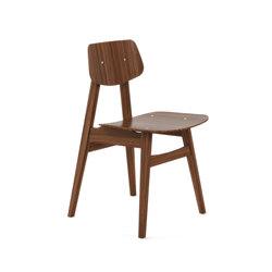 1960 Chair Walnut | Sièges visiteurs / d'appoint | Rex Kralj